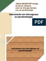 10.Les Instruments Non Chirurgicaux en Paro
