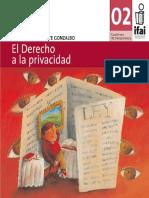 Cuadernillo 2 - El Derecho a La Privacidad