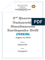 Hagbay Elementary School NSED 3rd Quarter 2018