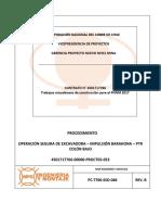 PC-7766-SSO-046 Operacion Segura de Excavadora - Impulsión Barahona (RL)