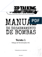 Keep Talking and Nobody Explodes - Manual de Bombas