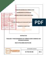 In-7766-SSO-006 Instructivo Montaje Cañeria AC Con Retroexcavadora Rev 1...