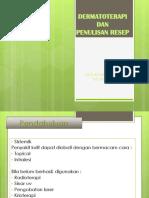 Dermatoterapi dan Penulisan Resep.pptx