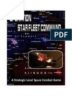Operation Star Fleet Command Rules v.13