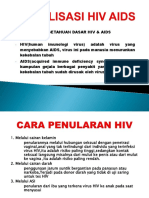 Sosialisasi Hiv Aids.