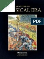 WAC Armies Book Classical Era