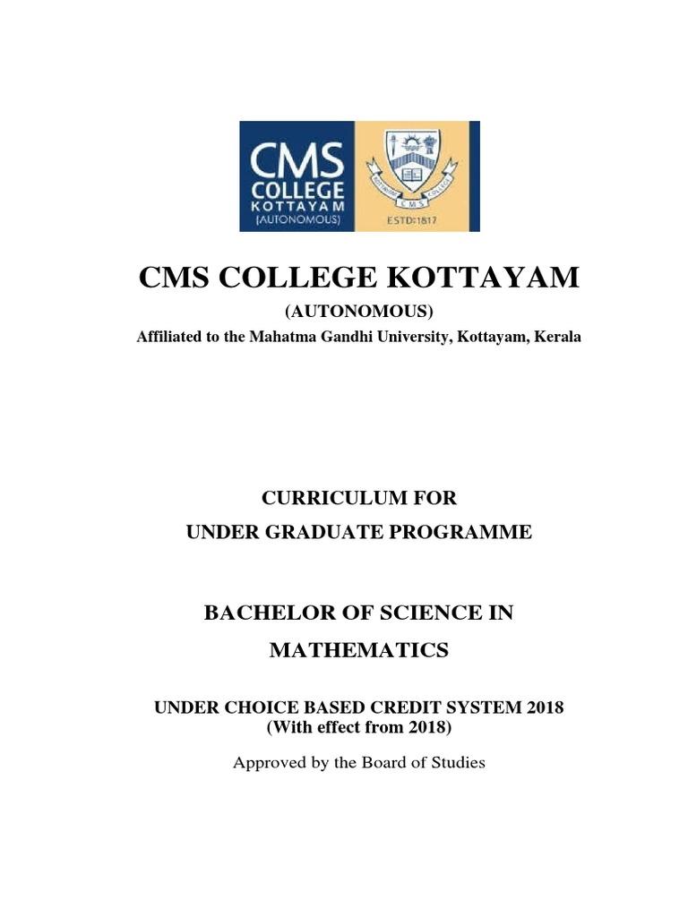 Bsc-Maths pdf | Mathematical Analysis | Física y matemáticas