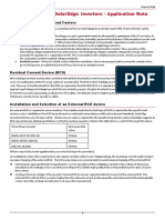 Application Note Ground Fault Rcd