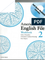 American English File 2 Workbook