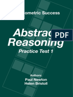 Abstract Reasoning Practical Test 3