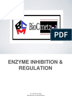 Enzyme Inhibition & Regulation