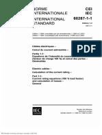 IEC 60287-1 Electric Cables