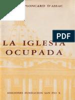 La Iglesia Ocupada - Jacques Ploncard D'Assac