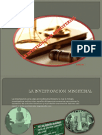 La Investigacion Minsiterial (2)