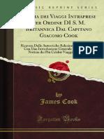 Storia dei Viaggi Intrapresi dal Capitano Cook