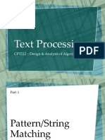 Text Processing (Complete)
