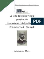 La vida del delito y de la prostitucion - Francisco A. Sicardi.doc