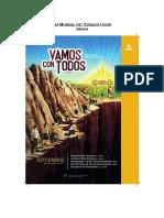 Sudamerica Vamos Con TODOS Sermon Dia Mundial de Los Conquistadores 15-09-2018