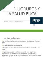 Los Fluoruros y La Salud Bucal