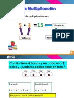 material Del Profesor Multiplicacion de Numeros de 3 Digitos