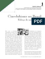 Cineclubismo No Brasil - Esboço de Uma História
