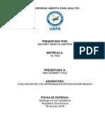 TAREA (III) DE EVALUACION DE LOS APRENDIZAJE EN BASICA (ANNY ).docx