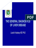 The General Diagnostics of Liver Disease
