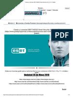 Claves y Licencias ESET NOD32 Smart Security 4,8, 9 y 10 + Mobile