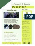 newsletter july 2018