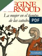 La mujer en el tiempo de las catedrales, de Regine Pernoud