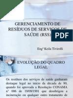 HOSPITAIS - GERENCIAMENTO DE RESÍDUOS DE SERVIÇOS DE SAÚDE - RDC 306