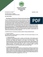 SBP Circular on Diamer Basha Dam to Commercial Banks