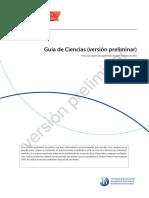 MYP Guia de Ciencias (Versión Preliminar)