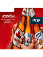TAP Molson Coors Sept 2018