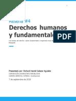 Constitucional Derechos Humanos y Fundamentales, una historia del derecho, Bernd Marquardt