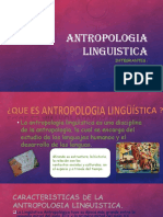 ANTROPOLOGIA LINGUISTICA