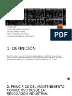 MANTENIMIENTO CORRECTIVO (EXPOSICIÓN)