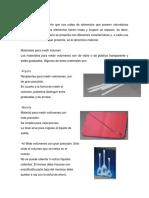 Materiales quimicos