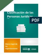 Lectura 5- Clasificación de La Persona Jurídica