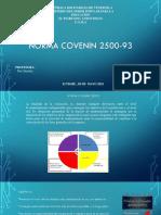 Norma Covenin 2500-93