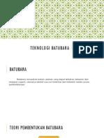 Teknologi Batubara
