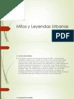 Mitos y Leyendas Urbanas
