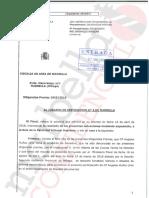 """Escrito de la Fiscalía referente al caso """"PGOU"""""""