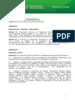 ESTATUTO GENERAL Adaptación a la ley Nº 23551 de Asociaciones Sindicales