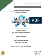 Virtualización en Cómputo en La Nube