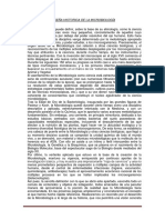 Reseña Historica de La Microbiología