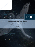 Stellarium User Guide 0.18.2 1