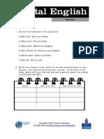 TOTAL ENGLISH Worksheet