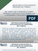 Métodos Globales Para La Evaluación de Las Condiciones Del Trabajo.