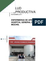 Salud Reproductiva 2017
